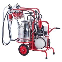 Kurtsan Çift Sağım Çift Güğüm Yağlı Süt Sağım Makinası - İnek